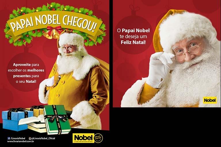 Papai Nobel Chegou!