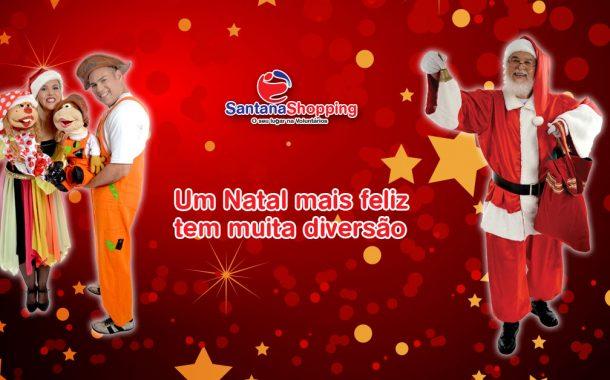Natal Feliz é Natal com a cara do Papai Noel