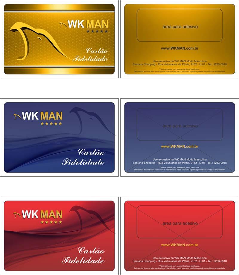 promoção loja WK MAN