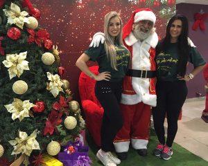 Foto com o Papai Noel